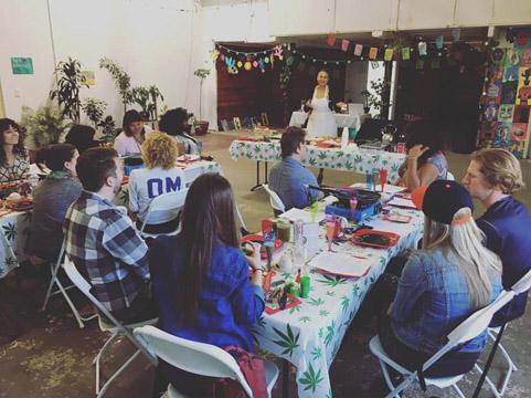 Oakland Cannabis creative Mother's Day brunch marijuana cooking classs